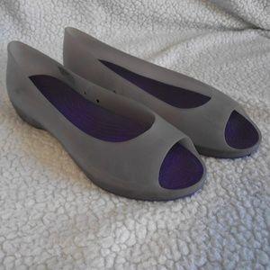 c3c9d315aa0c2c Crocs  Carlie  Open-Toe Flats